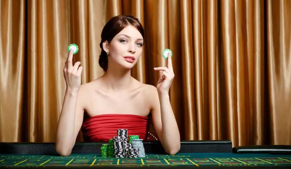 women gambler